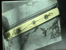 Dutch Delft Bracelet,Prcd Ers Set, Silver,Orig Box