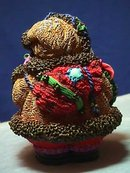 French Santa Figure, Crinkle Claus