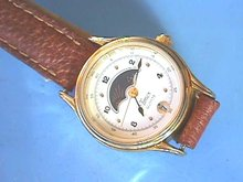 Timex Moon Watch, Date, No'd. Seconds,Nurse