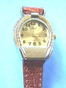 Pearl Ladies Watch, G/T&S/T, Horseshoe, Nice!