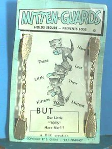 Mitten-Guards Vintage,Original Card,Never used!