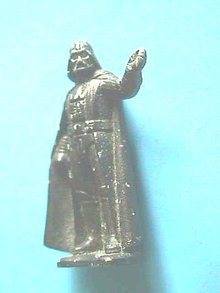 Darth Vader Figure,1982, Sgn'd,#'d,Cast Iron