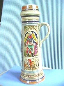 Goebel Beer Stein, Medieval,Vivid Colors,Nice!
