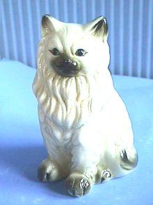 Himalayan,Persian, Cat/Kitten,Bone China,White