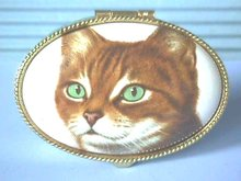 Cat Face Box, Made in Italy, Trinkets,Beauty!