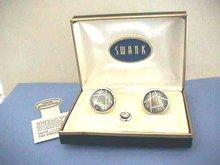 Vintage Swank Set,Boxed,Never Worn,Cuffs&Tie