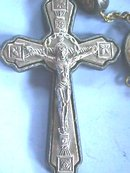 Old Italian Rosary,Sterling(?),Nuns wear(?)