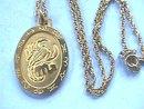 Scorpio Pendant Chain, G/T, Nice Piece!