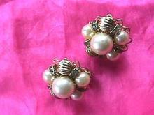Hobe Vintage Pearl Goldtone Ers MINT!