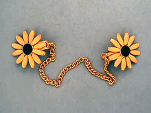 Brown-Eyed Sweater Guard,Susans,Vintage