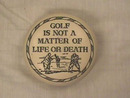 Wonderful Golf Paperweight,Gt.Britain,Unique