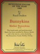 Royal Doulton Bunnykins,MIB,LAST in Series