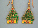 Christmas Tree Ers, Enameled,Fr Wires