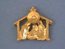 Christmas Manger Pin,Baby Jesus,Star,Nice