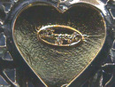 Danecraft Mothers Pin,Heart,2 Tone,Nice!