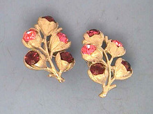 Sarah Coventry Earrings,Wisteria,S/T,R/Ss