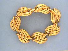 Vintage Napier Bracelet,G/T,Linked,Fab!