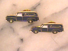 2 Eastwood Pins,Enameled,Lapel,Nice!