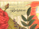 Brighton Neck/Er Set,New In Tin,Garnets,Pattinae