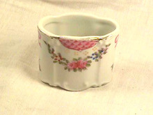 Vintage Porcelain Box,Trinket,Unique Shape