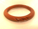 Carved Wooden Bangle,Nice!
