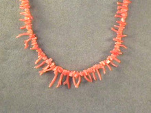 Exquisite Natural Tree Branch Coral-Angelskin Necklace