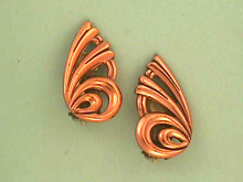 Fabulous Renoir Earrings,Art Deco,Vint,Nice!