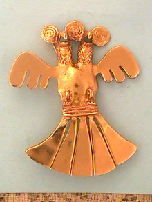 Alva Museum Reproductions,Dbl Headed Bird Pin