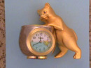 Elgin Whimsical Clock,Cat,Fishbowl,Unique