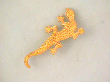 Textured Lizard Pin,Crawling,Nice!