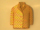 Gold Jacket Pin,14K,Signed,Designer