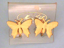 Miriam Haskell Set,Butterfly,Vint,On Card