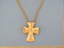 Coventry Cross Necklace,Mod,24 In,Unique