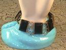 Black Goldfilled Bracelet,Handmade,Vintage