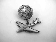 Jet Set Pin,Earth,Jet Dangle,Cool!