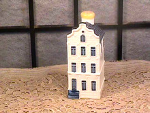 KLM Delft Blue House,#45,Sealed,Mint