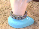 Vintage Expansion Bracelet,R/Ss,Navettes