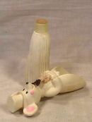 Avon Church Mouse,Groom,Vintage,Bottle