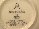 Denmark Collector Plate,Fisketorvet,No'd.