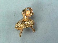 Tiniest Ballerina Pin,Vintage,Precious