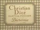 Vintage Dior Diorama Dusting Powder-Full&MIB