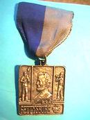Gettysburg Medal Badge,Boy Scout,York,PA Heritage Prgm
