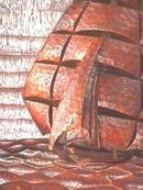 1851-1876 'Challenge' Wooden Carving of Ship