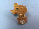 1968-1969 Lions Club Attendance Pin, 2 Parts