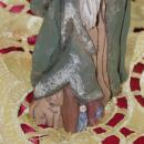 Santa Hand Carved Figure Numbered 11/100 Limited Edition Signed Hand Painted