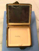 Old CAPRI Compact,Mirror,Square,Fancy