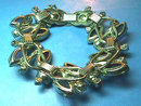 Stunning Juliana Set,Blue,Bracelet,Earrings,Vintage