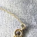 Angelskin Coral Roses Necklace Vintage Gold Filled