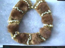 Vintage Minks and Shells Collar - MUST SEE!