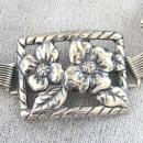 1940s Felch Sterling Bracelet,Art Deco,Beautiful!